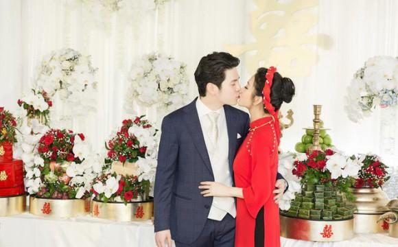 Sau một tháng đính hôn, Mai Hồ đã lộ rõ vòng hai to lùm lùm làm rộ tin đồn mang thai