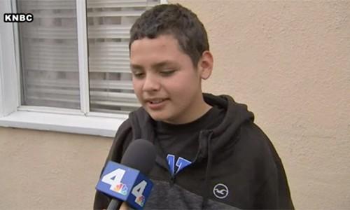 Cậu bé Mỹ sống sót sau khi kẹt trong cống nước thải 12 tiếng