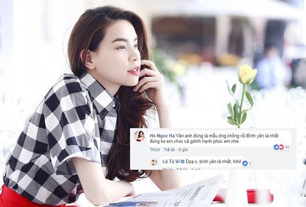 Bất ngờ Hà Hồ chia sẻ mẫu ông chồng nhưng không phải Kim Lý.
