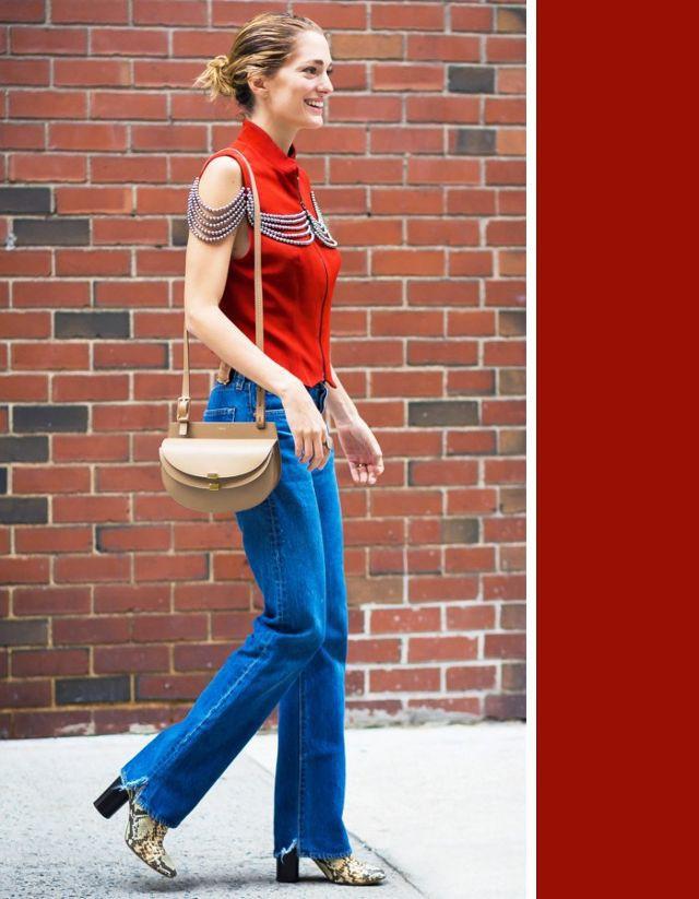 Không cần chọn kiểu dáng, chỉ cần kết hợp cùng 5 gam màu này là set đồ với quần jeans nhìn long lanh hết mức