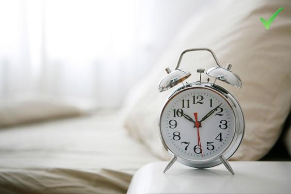 Thiết lập giờ đi ngủ cố định