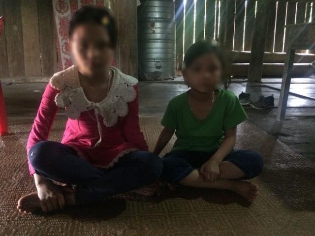 2 cháu bé thoát chết trong vụ thảm án ở Cao Bằng.