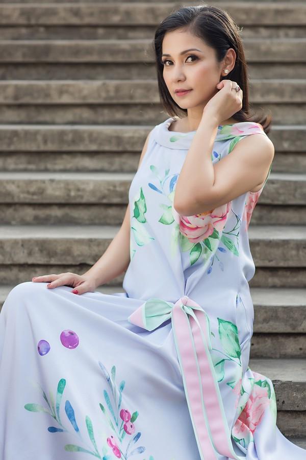 Diễn viên điện ảnh - đạo diễn Việt Trinh.