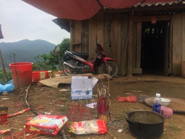 Căn nhà vợ chồng anh Long - chị Coi sinh sống cũng là nơi xảy ra vụ thảm án. Ảnh: CTV