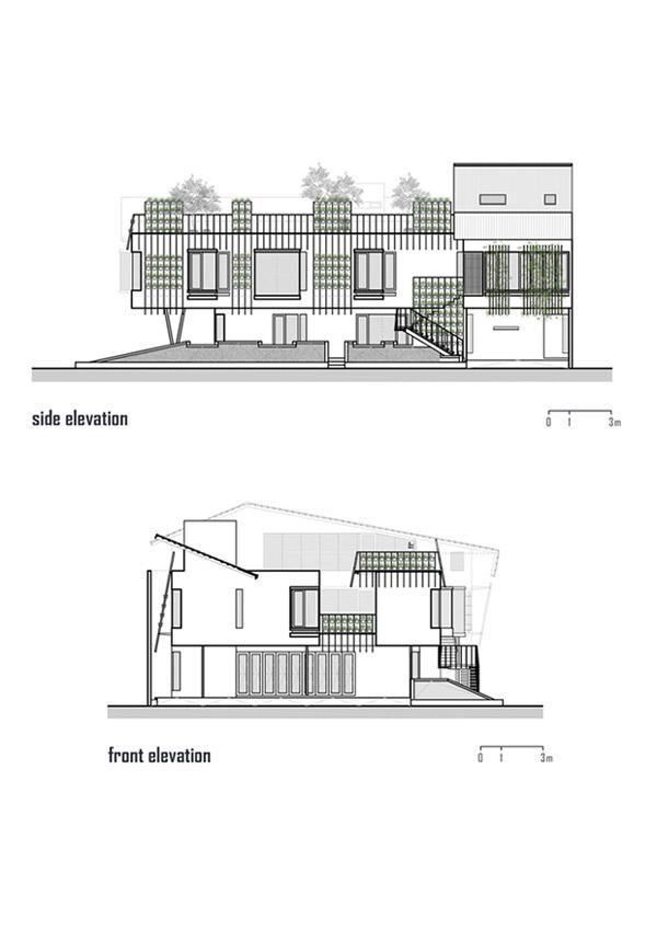 Bản thiết kế toàn bộ căn nhà.