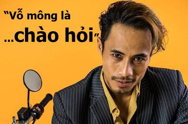 Phạm Anh Khoa: Vỗ mông nhau như cách để chào hỏi.