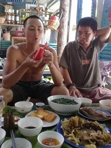 Rocker Nguyễn trong những ngày sống ở Côn Đảo.