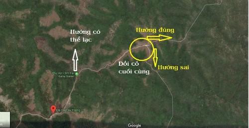 Một số người am hiểu cung Tà Năng - Phan Dũng đã hỗ trợ xác định vị trí lạc dựa trên kinh nghiệm. Hiện bạn bè của Kiện còn nhờ đến các đội flycam tham gia cùng.