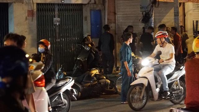 Hiện trường vụ việc các hiệp sĩ ở Sài Gòn gặp nạn. Ảnh: VietnamNet