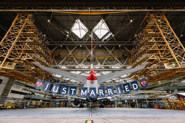 Hãng hàng không British Airways quyết định tổ chức một chuyến bay đặc biệt nhân ngày trọng đại. Ảnh: British Airways