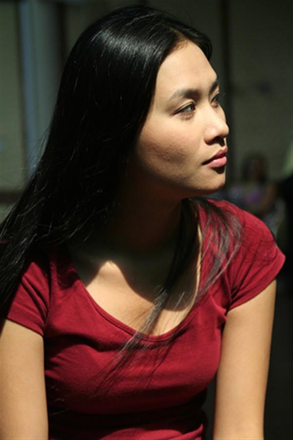 Nhan sắc thời trẻ của Hà Hương khi đóng trong phim Phía trước là bầu trời