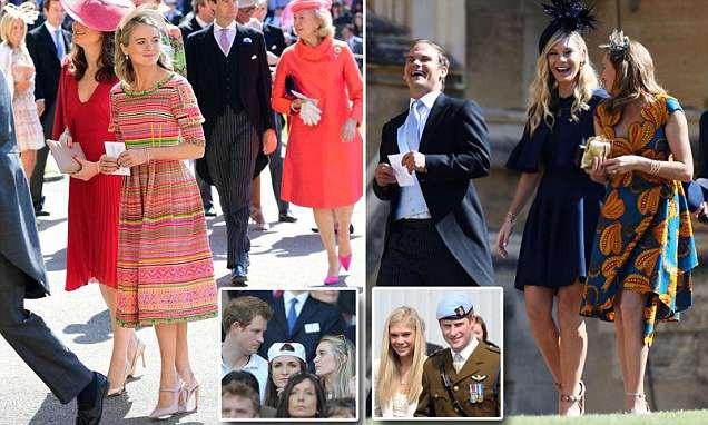 Đây chính là những người yêu cũ của hoàng tử Harry. Họ được mời xuất hiện trong đám cưới.