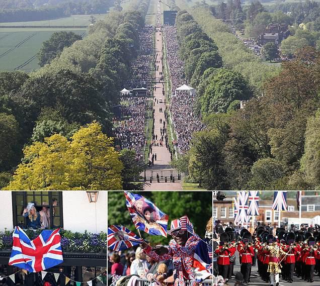 Người dân Anh hồi hộp mong chờ đám cưới đẹp như cổ tích.