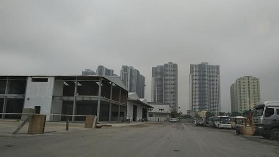 Những công trình được xây dựng trên vị trí không có trên bản vẽ tổng mặt bằng quy hoạch đã được Sở Quy hoạch và Kiến trúc chấp thuận.