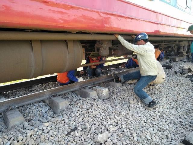 Ngành đườn sắt đang dốc toàn lực khôi phục nhằm thông tuyến trong thời gian sớm nhất