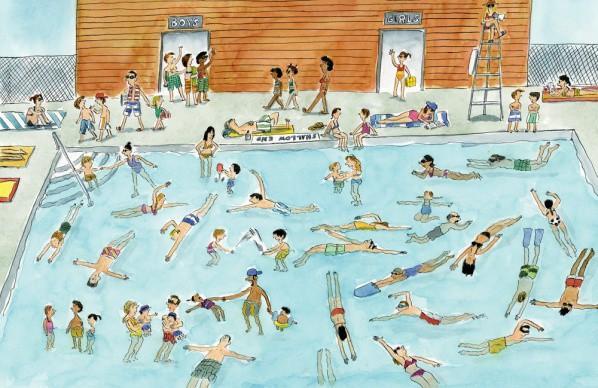 Hơn nữa, nếu bể bơi chỉ lèo tèo vài người, tâm lí tự nhiên của nhân viên cứu hộ là buồn chán và không mấy tập trung.