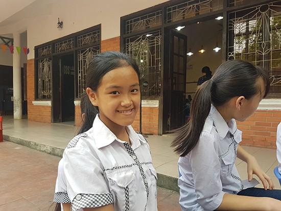 Nụ cười rạng rỡ của các em mồ côi, có hoàn cảnh khó khăn đang được nuôi dưỡng tại Làng trẻ em SOS Việt Trì. Ảnh: Bảo Loan.