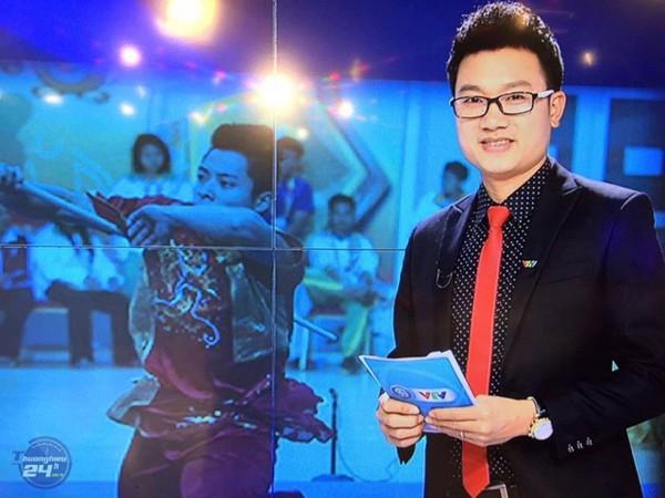 MC Minh Tiệp được biết đến là người dẫn chương trình năng động và nhiều tài lẻ.