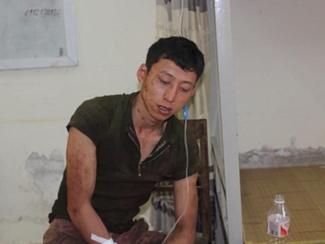 Lý Đình Khánh tại cơ quan điều tra.
