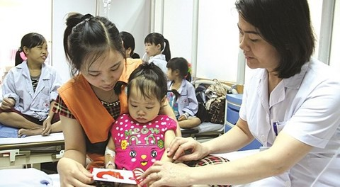 Phát hiện và điều trị bệnh Thalassemia sớm giúp trẻ có chất lượng cuộc sống tốt hơn. Ảnh: TL