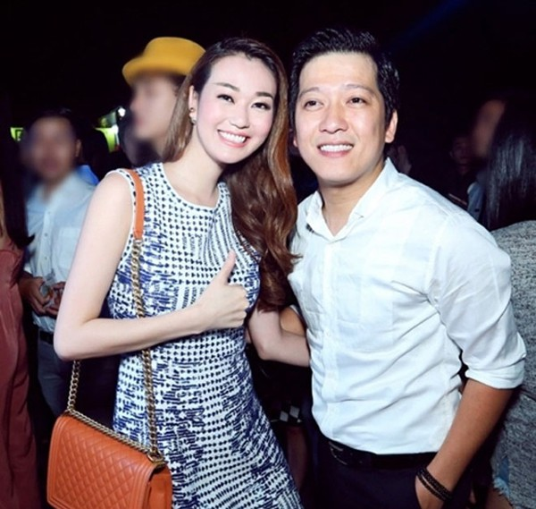 Khánh My và Trường Giang thường gặp nhau ở sự kiện.