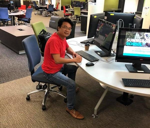 Thạc sỹ Nguyễn Sóng Hiền - nghiên cứu sinh tại Đại học Newcastle, Australia. Ảnh: NVCC