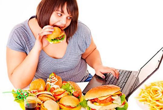 Thừa cân - béo phì là một trong những nguyên nhân hàng đầu gây ung thư - ảnh minh họa trên Internet