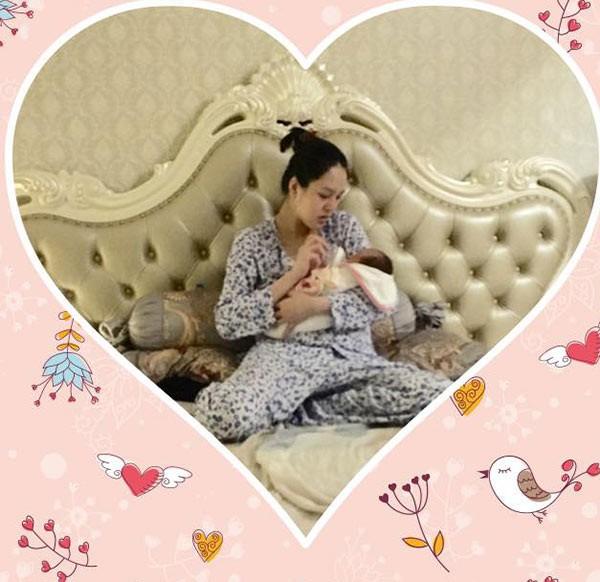 Nửa năm sau khi kết hôn, Á hậu Hoàng Anh và ông xã chào đón bé gái đầu lòng vào ngày 20/9/2017. Cô công chúa nhà Á hậu nặng 3kg, được đặt tên thân mật là Na.  Theo Saostar