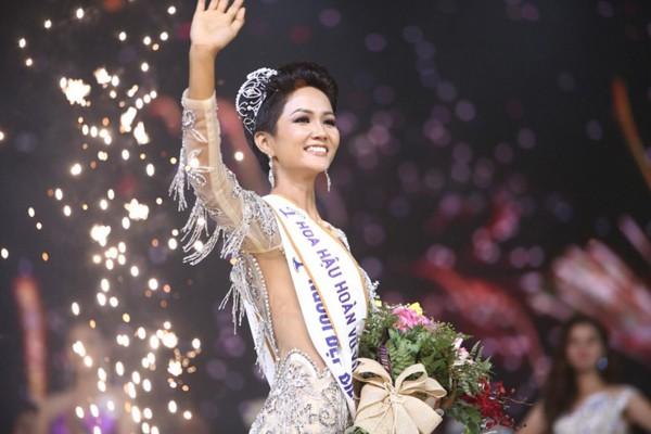 Chủ nhân vương miện của cuộc thi Hoa hậu Hoàn vũ Việt Nam 2018, Hhen Niê.