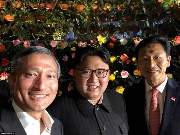 Trước cuộc gặp lịch sử, ông Kim Jong-un gặp Bộ trưởng Bộ tài chính Singapore.