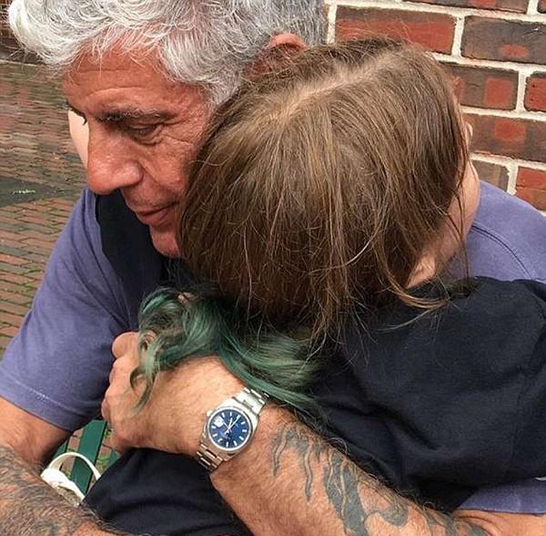 Đầu bếp 61 tuổi dành rất nhiều tình cảm cho con gái. Ảnh: Instagram.