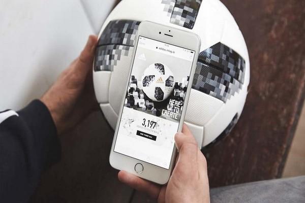 Trái bóng tại World Cup 2018 có thể tương tác với smartphone thông qua giao thức NFC