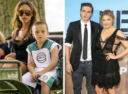 Brooklyn Beckham hẹn hò với Chloe Moretz, nữ diễn viên có vẻ ngoài khá giống mẹ của Brooklyn, Victoria Beckham.