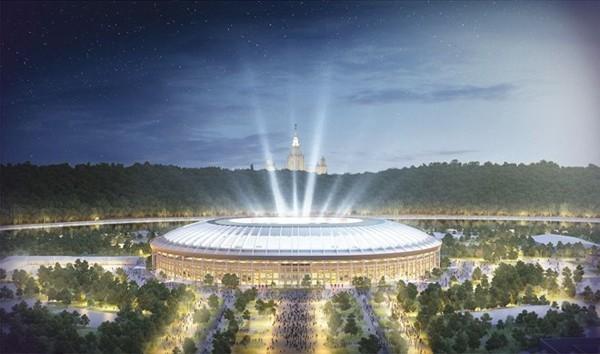 Sân vận động xây dựng với kinh phí gần 400 triệu USD.