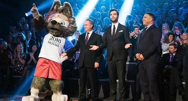Sói Zabivaka sẽ là linh vật của World Cup 2018.
