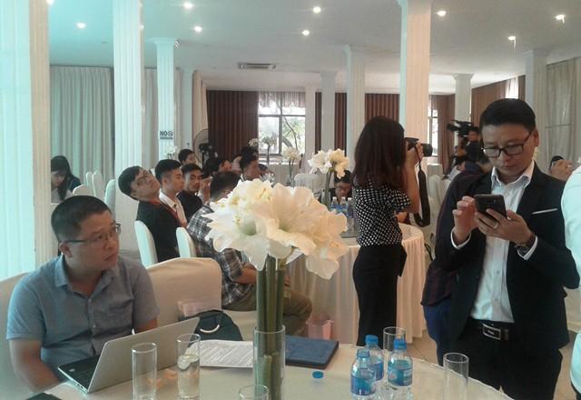 Một số nhà báo từ Tây Nguyên cũng đã có mặt tại Hà Nội để tham gia lễ phát động.