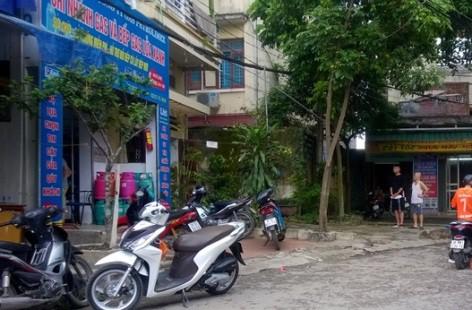 Cơ sở bếp ga Lửa Xanh, nơi các đối tượng bị bắt giữ