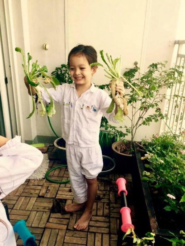 Căn hộ với hệ thống trồng rau sạch thông minh ở ban công của Diva Hồng Nhung giữa lòng Sài Gòn - Ảnh 6.