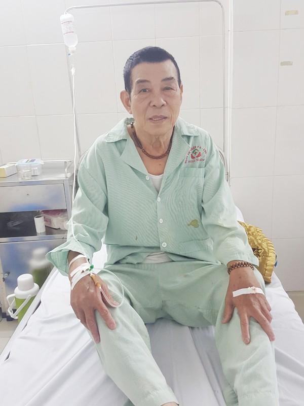 Bệnh nhân Thình sau phẫu thuật đã ổn định