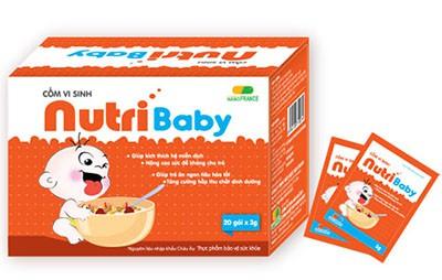Cốm NutriBaby giúp trẻ ăn ngon, tăng cân khỏe mạnh