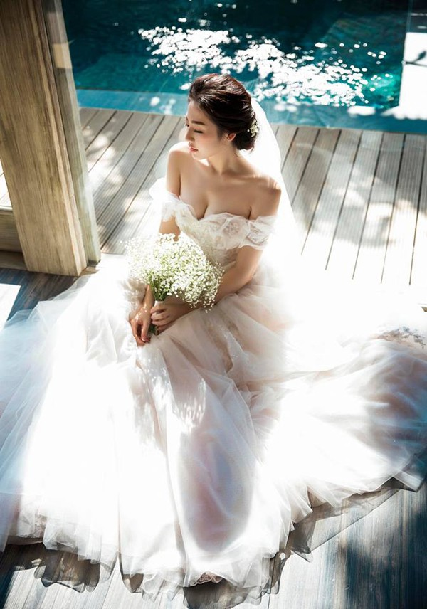 Ảnh cưới của Dương Tú Anh.