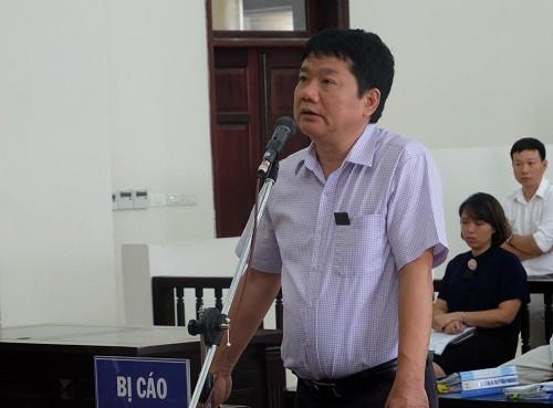 Bị cáo Đinh La Thăng