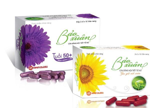 Hai sản phẩm Bảo Xuân Gold và Bảo Xuân 50+ được sản xuất từ đậu nành dược liệu đạt chuẩn GACP-WHO