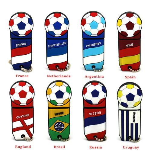 Một số mẫu USB ăn theo trào lưu bóng đá.