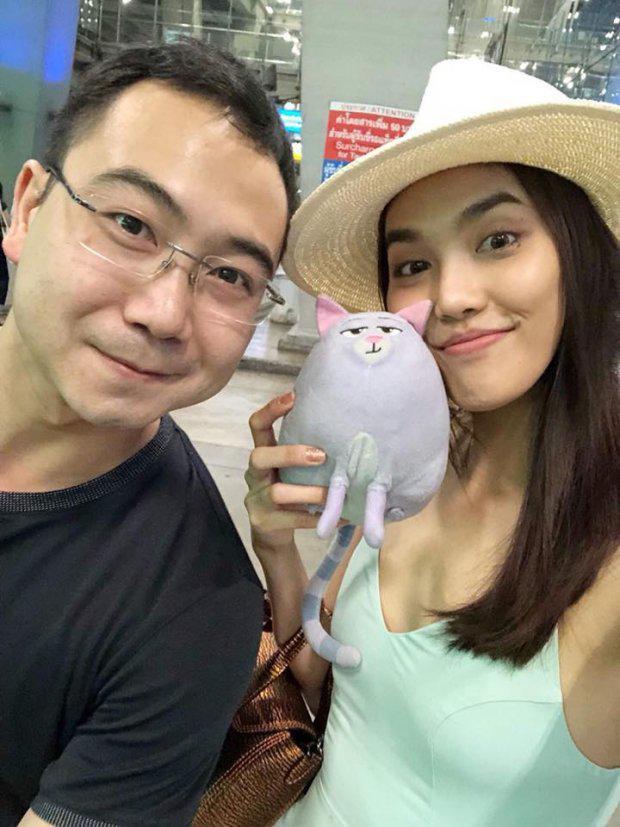Bức ảnh mới nhất của Lan Khuê và chồng sắp cưới.