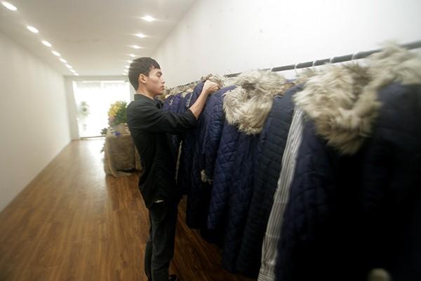Dàn áo khoác lông đủ mọi kích cỡ dành cho các thượng đế.
