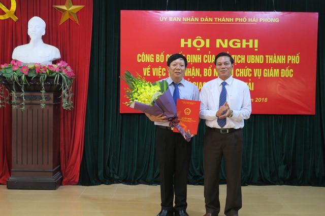 Ông Nguyễn Đức Thọ được bổ nhiệm chức vụ Giám đốc Sở Tài nguyên và Môi trường