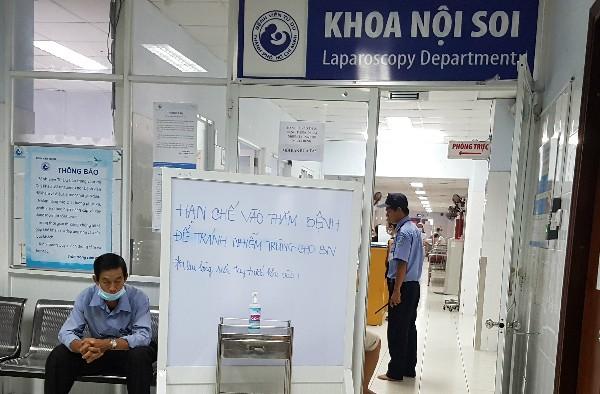 Đến 12 giờ trưa ngày 4/6, Bệnh viện Từ Dũ đã tiếp nhận lại bệnh nhân tại Khoa Nội soi. Ảnh: VnEpress.
