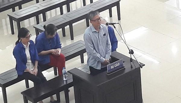 Bị cáo Đinh Mạnh Thắng tại tòa. (ảnh: HC)