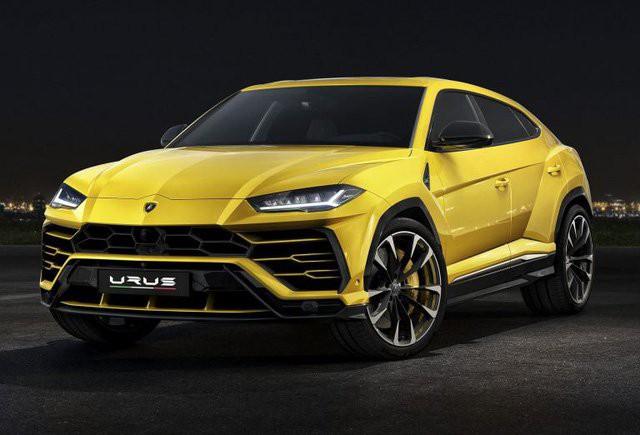 Mẫu Lamborghini Urus.